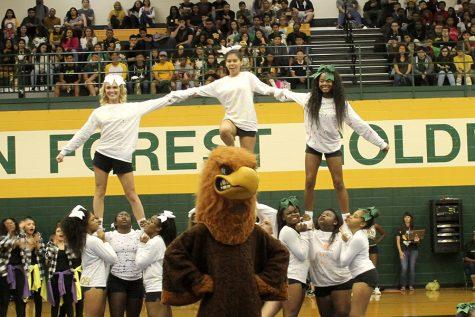 Klein Forest Cheerleaders Homecoming Spirit