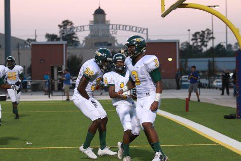 First Varsity Football Game